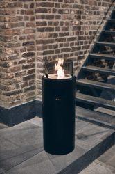 NOVE LED M Black gázos teraszfűtő lámpa